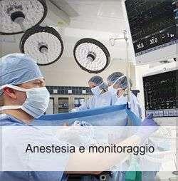anestesia e monitoraggio