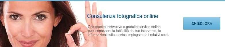 Consulenza fotograficachirurgia estetica