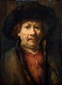 chirurgia estetica: Invecchiamento del viso Rembrandt - Autoritratto - 1656