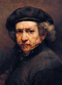 chirurgia estetica: Invecchiamento del viso Rembrandt - Autoritratto - 1659