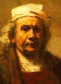 chirurgia estetica: Invecchiamento del viso Rembrandt - Autoritratto - 1663