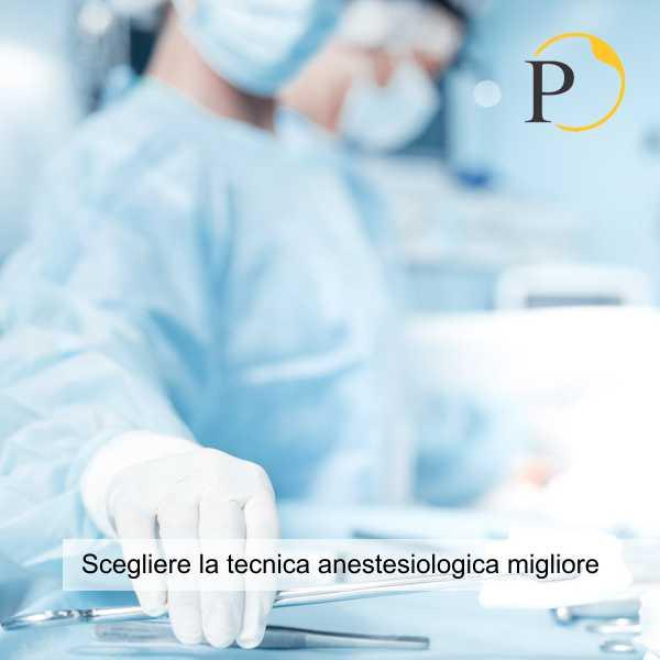 liposuzione anestesia