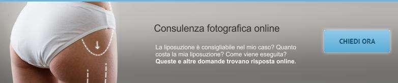 Consulenza fotografica liposuzione