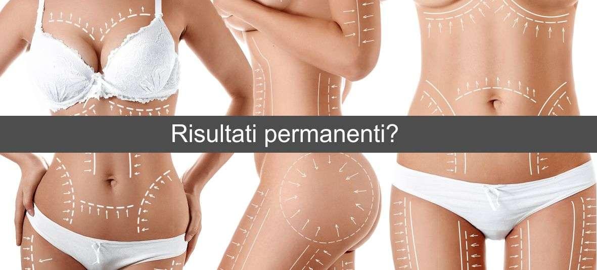 Liposuzione risultati: Permanenti e sicuri?